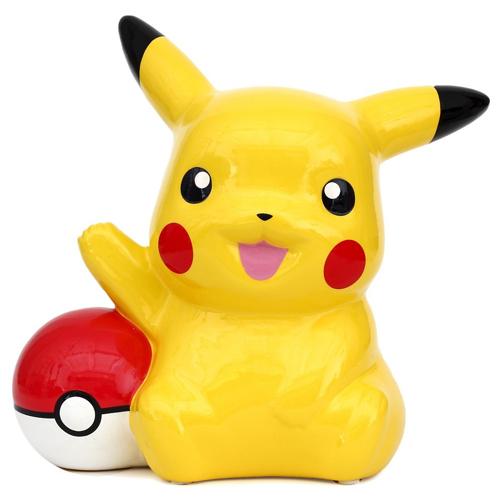 Pokémon Pikachu Coin Bank, Yellow
