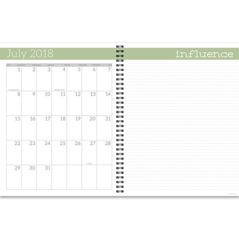 2018 2019 academic teacher spiral monthly weekly target