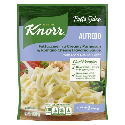Knor Pasta Sides Alfredo - 4.4oz
