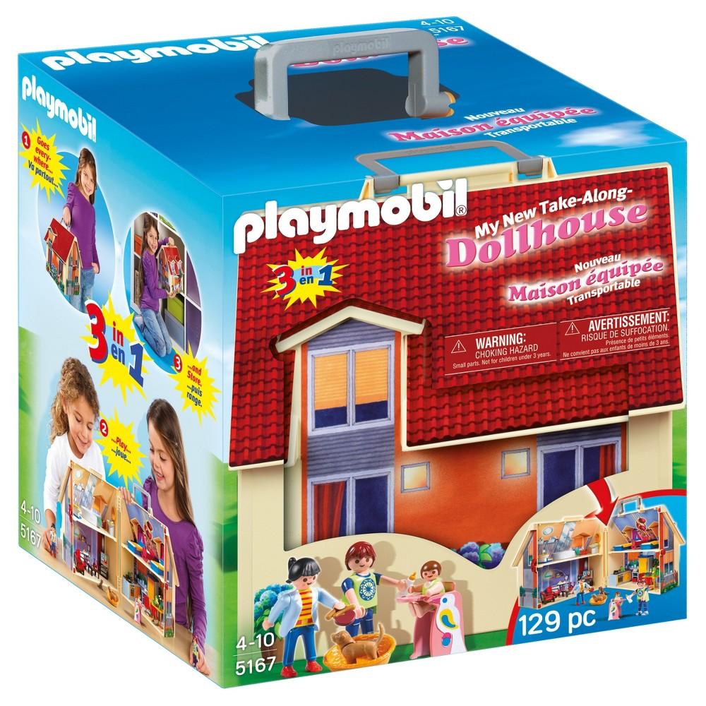 Playmobil Take Along Modern Dollhouse, Multi-Colored