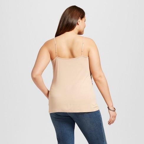 90f8e35b087 Women s Plus Size Perfect Cami - Ava   Viv™...   Target
