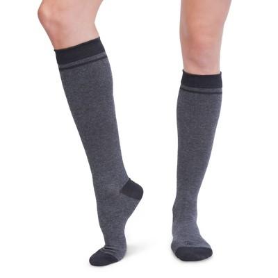 Maternity Compression Socks - Belly Bandit Charcoal L/XL