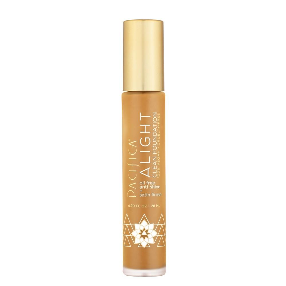 Pacifica Alight Clean Foundation 16NT (Neutral Tan) - 0.9 fl oz, 16 Neutral Tan