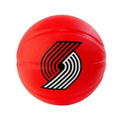 "NBA Spalding Portland Trail Blazers Mini 3"" Rubber Basketball"