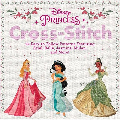 Disney Princess Cross-Stitch - (Paperback)