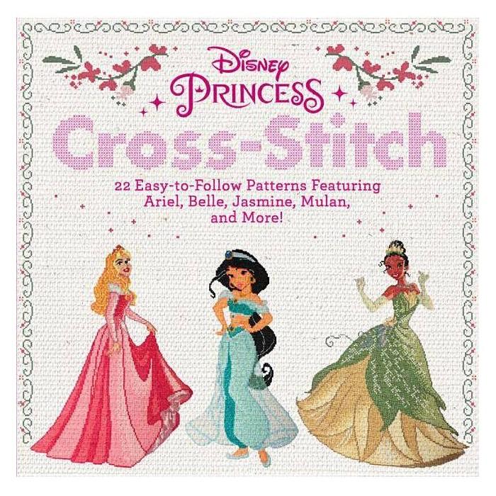 Disney Princess Cross-Stitch - (Paperback) - image 1 of 1