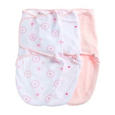 Aden by Aden + Anais Swaddle Wraps 3pk - Summer Solstice - Light Pink