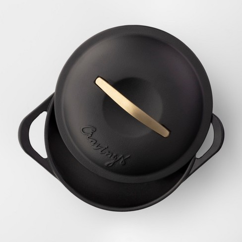 Cravings By Chrissy Teigen 5qt Cast Iron Dutch Oven With Lid Target