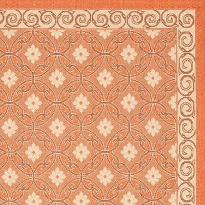 Terracotta/Cream