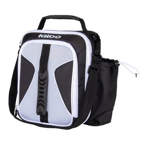 Igloo Hot Brights Air Mesh Vertical Lunch Bag - Black/White - image 1 of 9