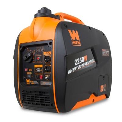 WEN 56225i Super Quiet 2250W Portable Inverter Generator with Fuel Shut-Off