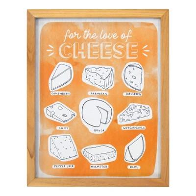 Cheese Framed Art 8 x 10 - Threshold™