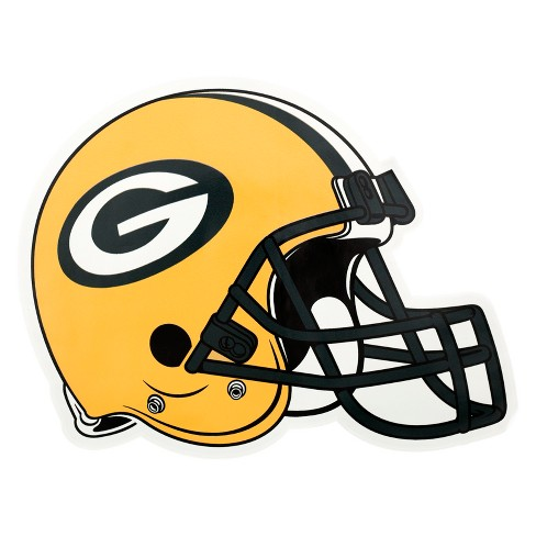 NFL Green Bay Packers Large Outdoor Helmet Decal - image 1 of 1