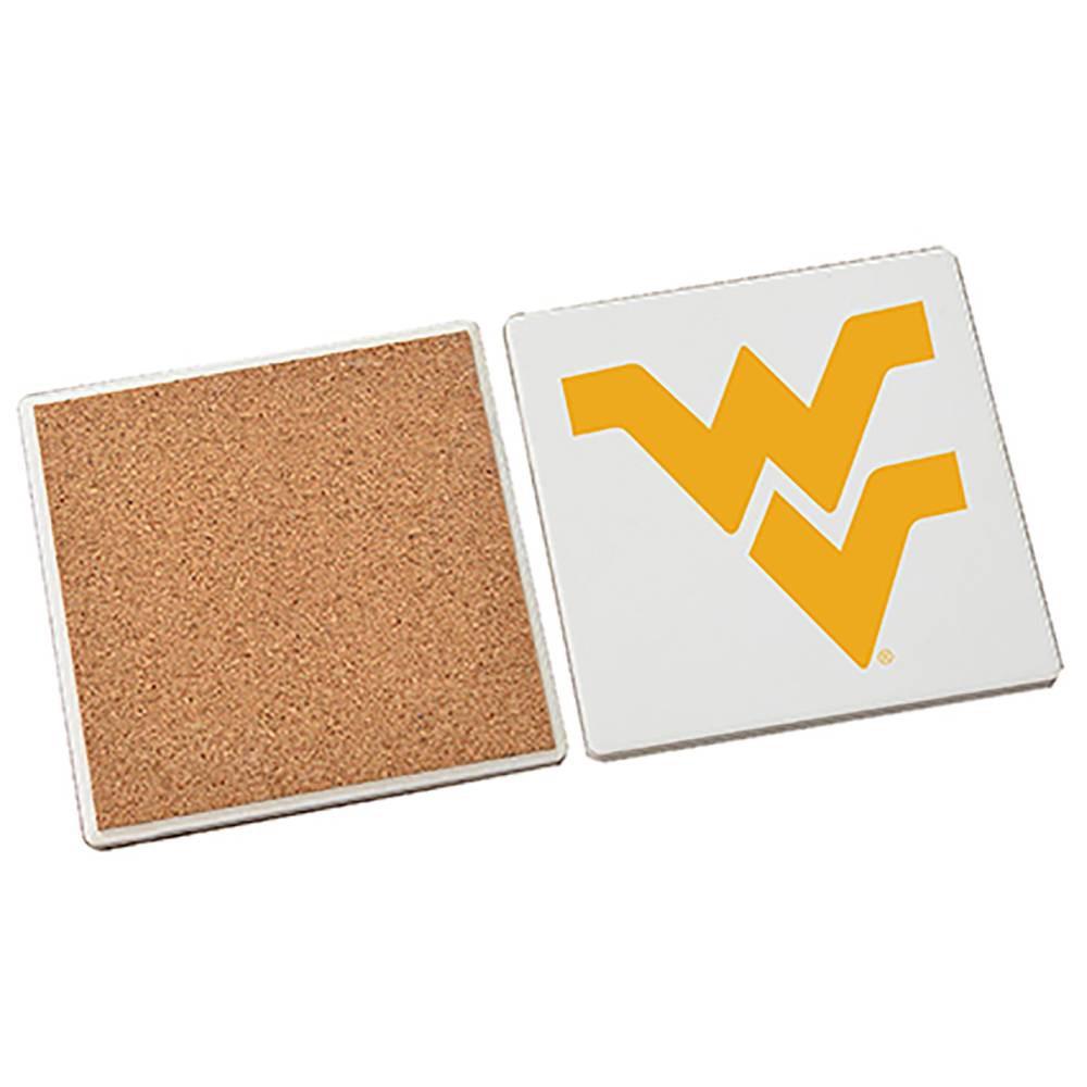 NCAA West Virginia Mountaineers Stone Coasters