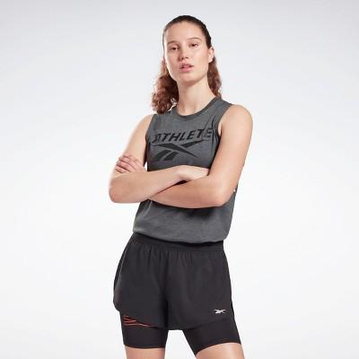 Reebok Athlete Vector Tank Top Womens Athletic T-Shirts