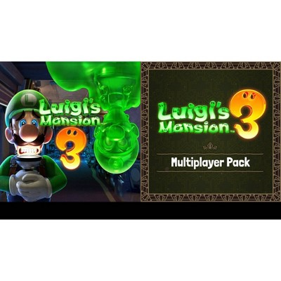 Luigi's Mansion 3 + Multiplayer Pack Bundle - Nintendo Switch (Digital)