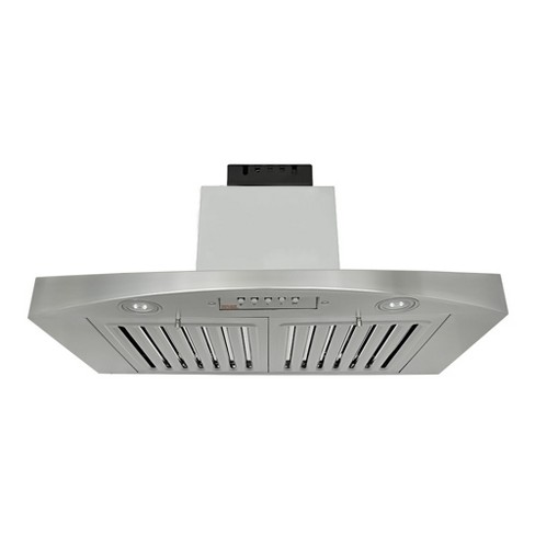 "KOBE RA3830SQB-1 280 - 680 CFM 30"" Wide  Stainless Steel QuietMode Under Cabinet Range Hood with - image 1 of 1"