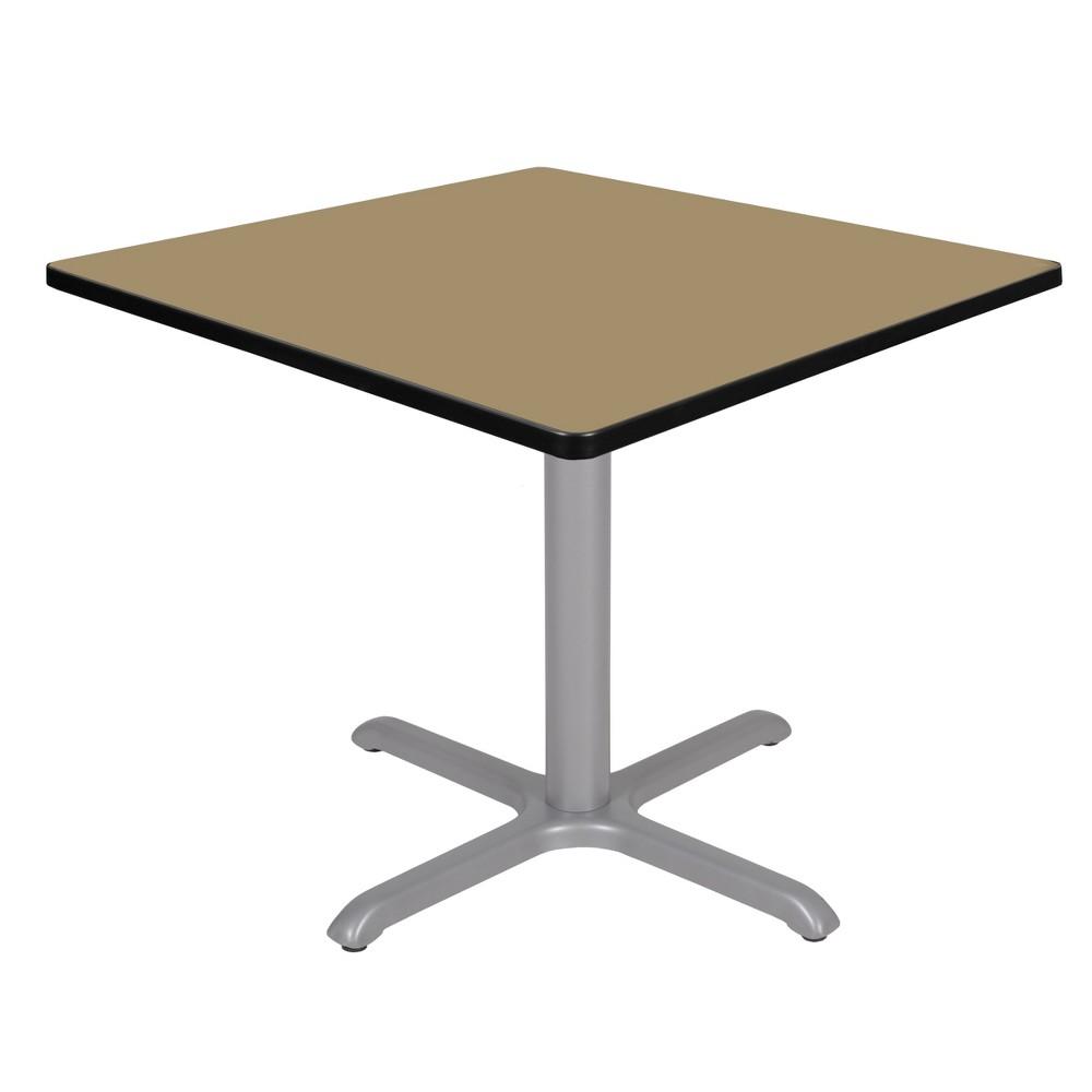 36 Via Square X - Base Table Gold/Gray - Regency