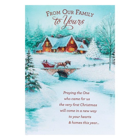 Dayspring Christmas Cards.Dayspring 14ct From Our Family Holiday Boxed Cards