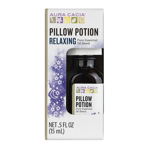 Aura Cacia Pillow Potion Relaxing Pure Essential Oil Blend - 0.5 fl oz - image 1 of 3