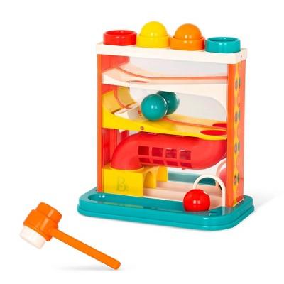 B. toys - Pound-a-Ball Toy - Whacky Ball - Turquoise