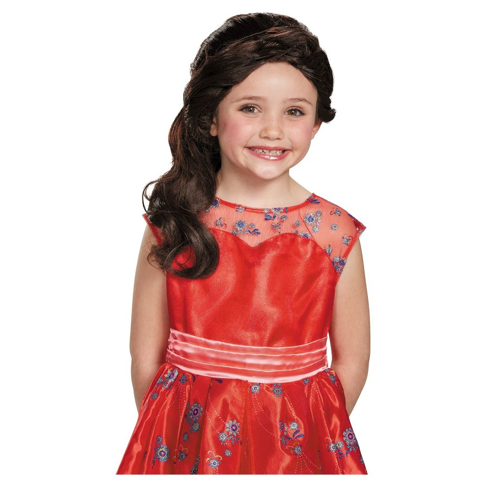 Image of Halloween Kids' Elena of Avalor Costume Wig Small, Women's