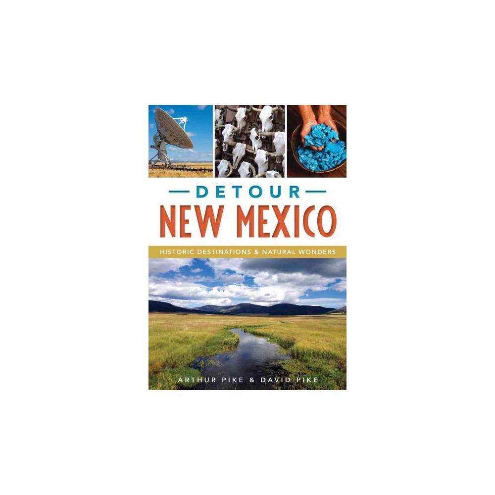 Detour New Mexico : Historic Destinations and Natural Wonders (Paperback) (Arthur Pike & David Pike)