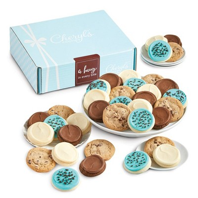 Cheryl's Cookies A Hug in every Bite Gift Box Classic Cookie Gift Assortment (24 Cookies)