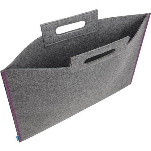 Itoya Midtown Large Format Artwork Carrier Bag, 19x26 , Grey/Purple - image 1 of 4