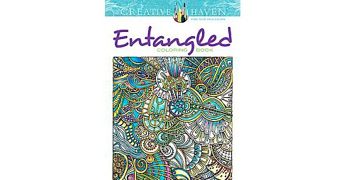 Entangled Adult Coloring Book - image 1 of 1