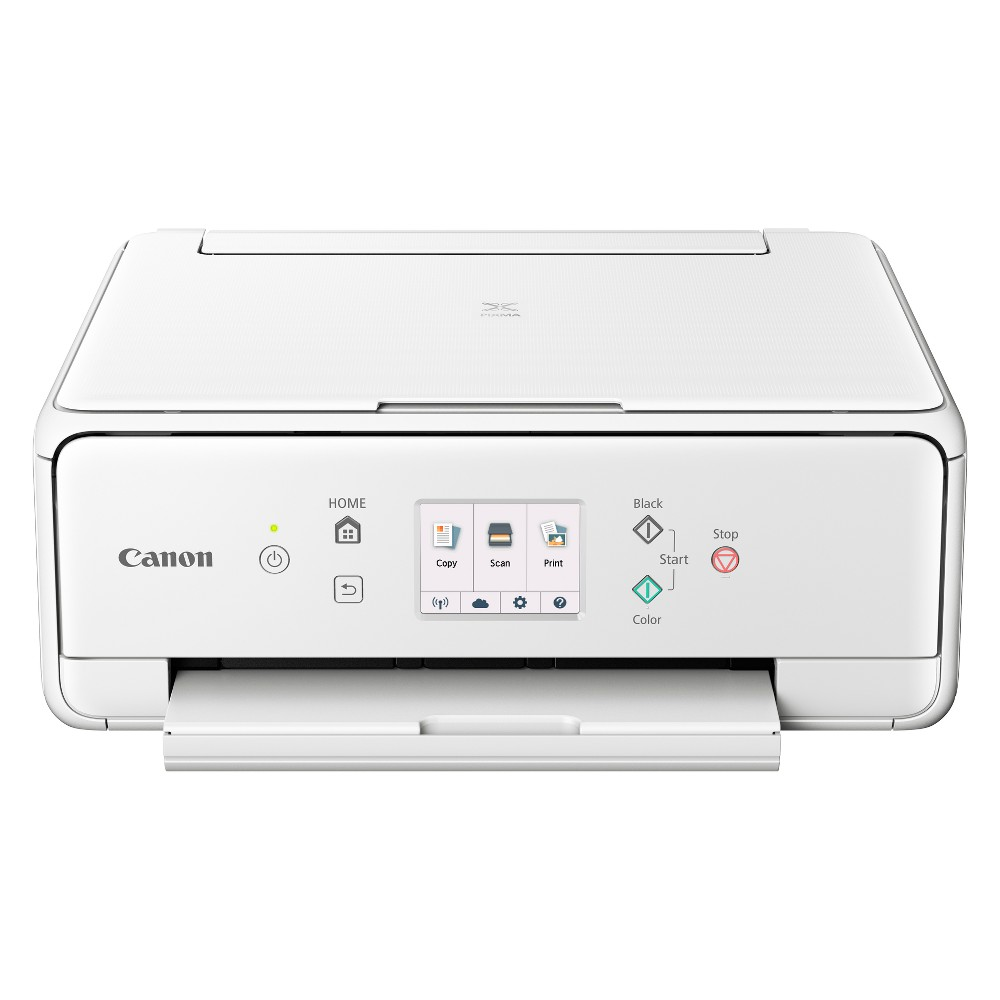 Canon TS6120 Wireless Inkjet All-in-One Printer - White (2229C022)