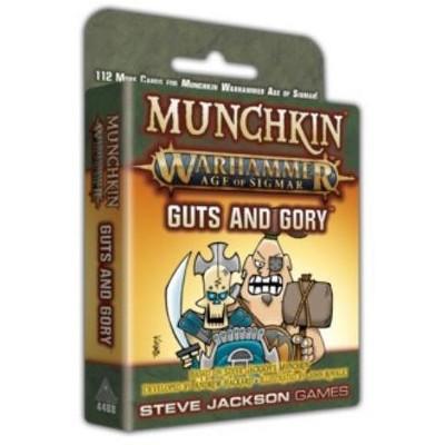 Munchkin Warhammer - Age of Sigmar, Guts and Gory Board Game
