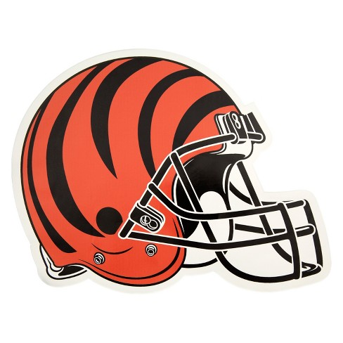 NFL Cincinnati Bengals Large Outdoor Helmet Decal - image 1 of 1