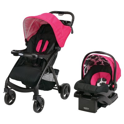 Graco® Verb Click Connect Travel System - Azalea