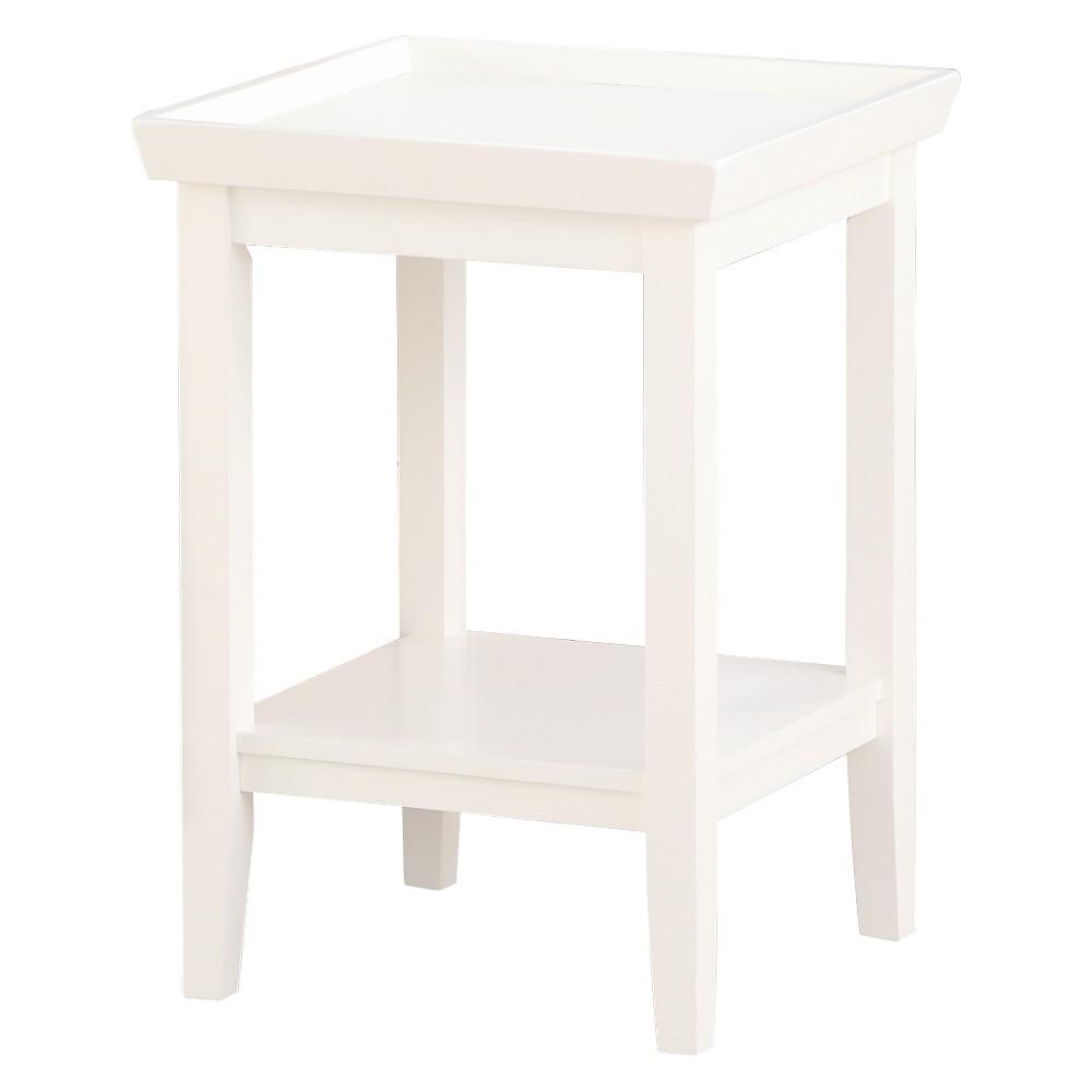 Johar Furniture Ledgewood End Table White