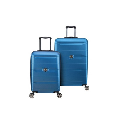 DELSEY Paris Comete 2.0 2pc Luggage Set - Steel Blue