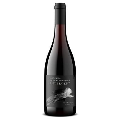 Intercept by Charles Woodson Pinot Noir Red Wine - 750ml Bottle