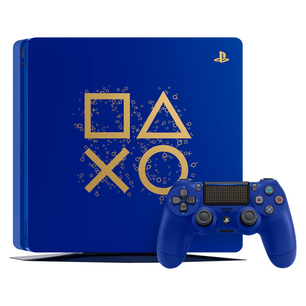 PlayStation 4 1TB Days of Play Limited Edition Bundle, Blue