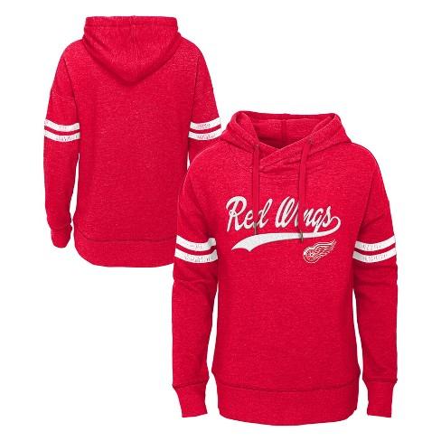 NHL Detroit Red Wings Girls' OT Fleece Hoodie - image 1 of 3