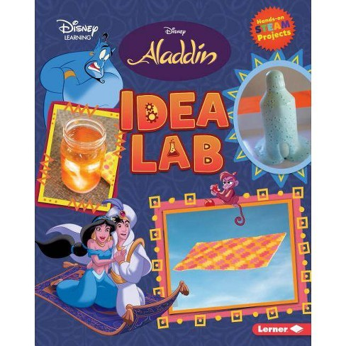 Aladdin Idea Lab - (Disney Steam Projects) by  Niki Ahrens (Hardcover) - image 1 of 1