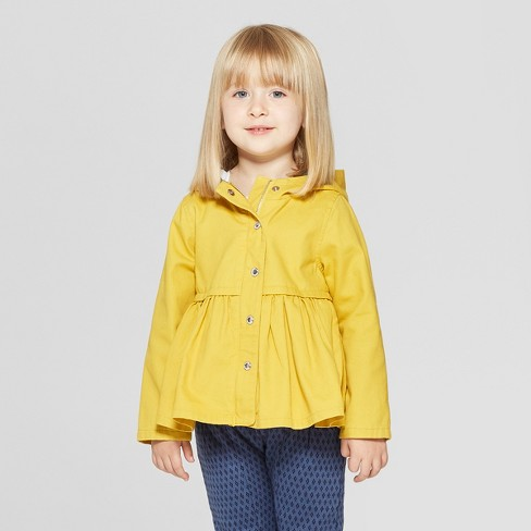 c77185721018 Toddler Girls  Fisherman Trench Jacket - Genuine Kids® From OshKosh ...