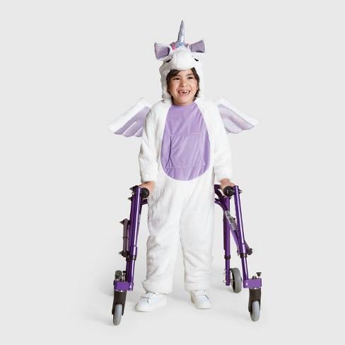 Kids Plush Adaptive Unicorn Halloween Costume - Hyde & EEK! Boutique™ - image 1 of 1
