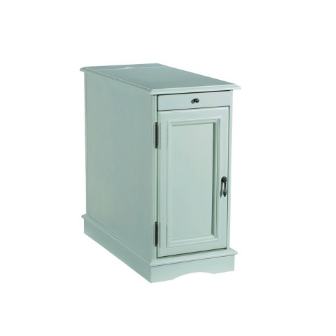 Felix Accent Table with USB Charging Station - Powell Company - image 1 of 3