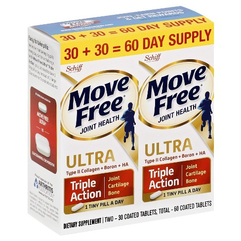 Move Free Ultra 2in1 with Comfort Max Tablets - 30ct/2pk - image 1 of 1