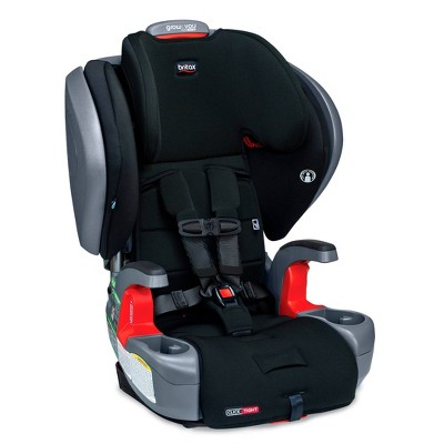 Britax Grow With You ClickTight Plus Harness-2-Booster SafeWash - Jet Black