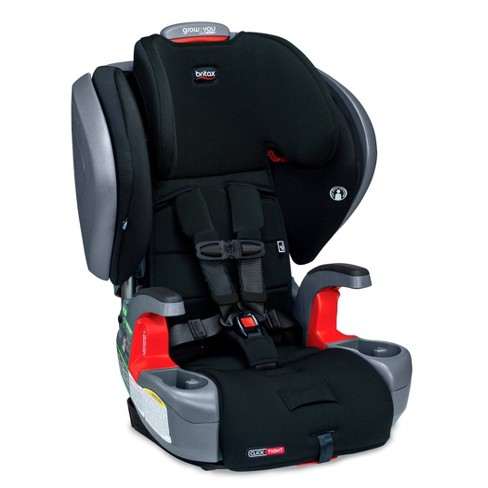 Britax Grow With You ClickTight Plus Harness-2-Booster SafeWash - Jet Black - image 1 of 4