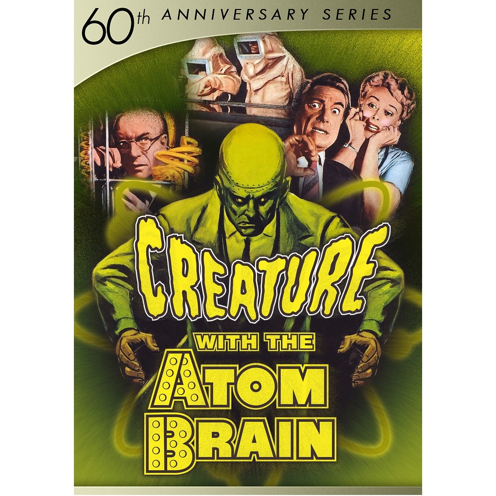 Creature with the atom brain (60th an (Dvd)