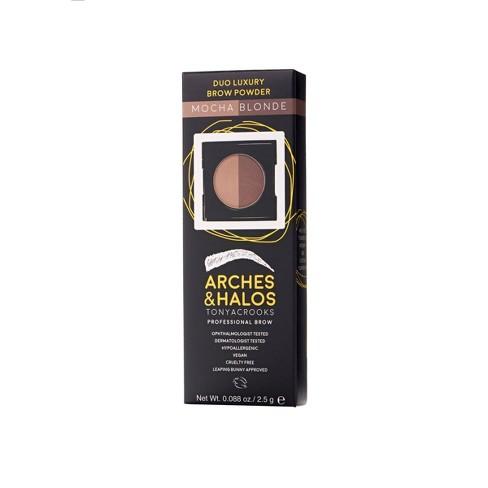 Arches & Halos Duo Luxury Brow Powder - 0.088oz - image 1 of 4