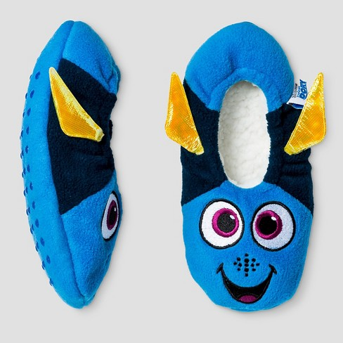 5060e856b Kids Finding Dory Slippers - Blue M/L (13-4) : Target