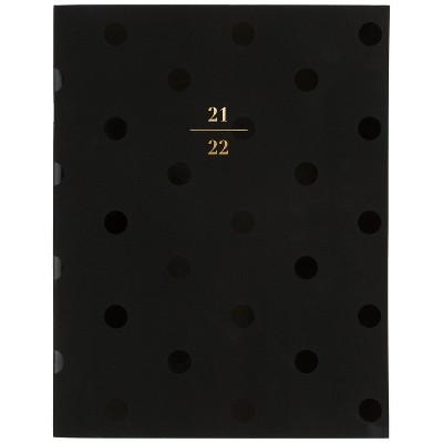 "2021-22 Academic Planner 8.5"" x 11"" Stapled Monthly Black Dot - Sugar Paper™"